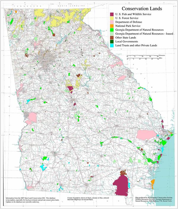 Big Conservation lands